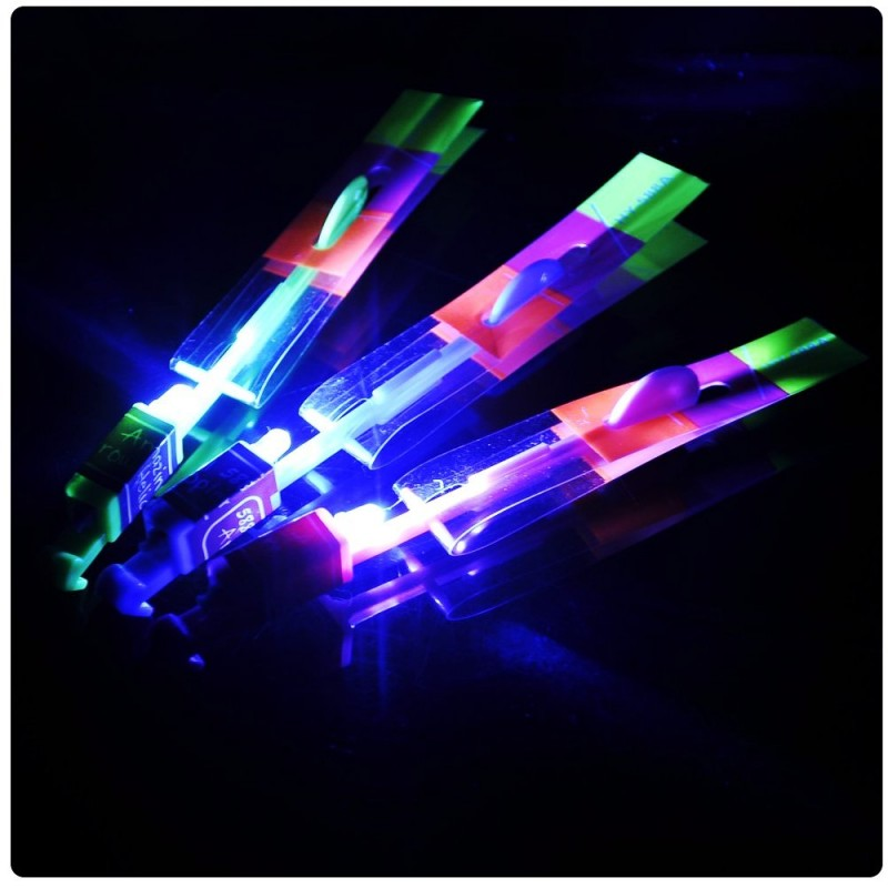 Игрушка Shantou Gepai / СмеХторг / Наша игрушка Вертолетик светящийся 20см 63628