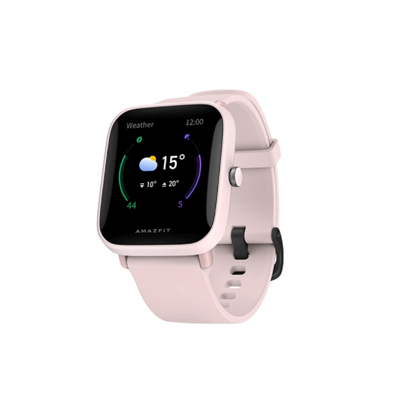 Умные часы Xiaomi Amazfit Bip U Pink A2017 Выгодный набор + серт. 200Р!!!
