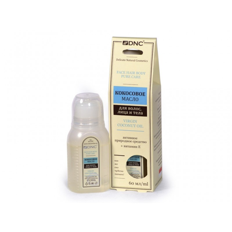 Кокосовое масло для волос, лица и тела DNC 60ml 4751006750555