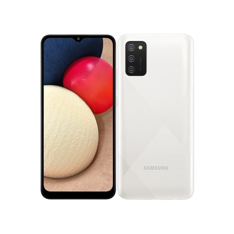 Сотовый телефон Samsung SM-A025F Galaxy A02S 3Gb/32Gb White