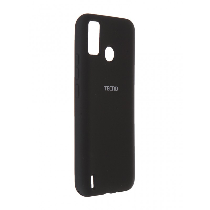 Чехол Svekla для Tecno Spark Go 2020 / 6 Go Silicone Soft Touch Black ST-TECSPGO-90