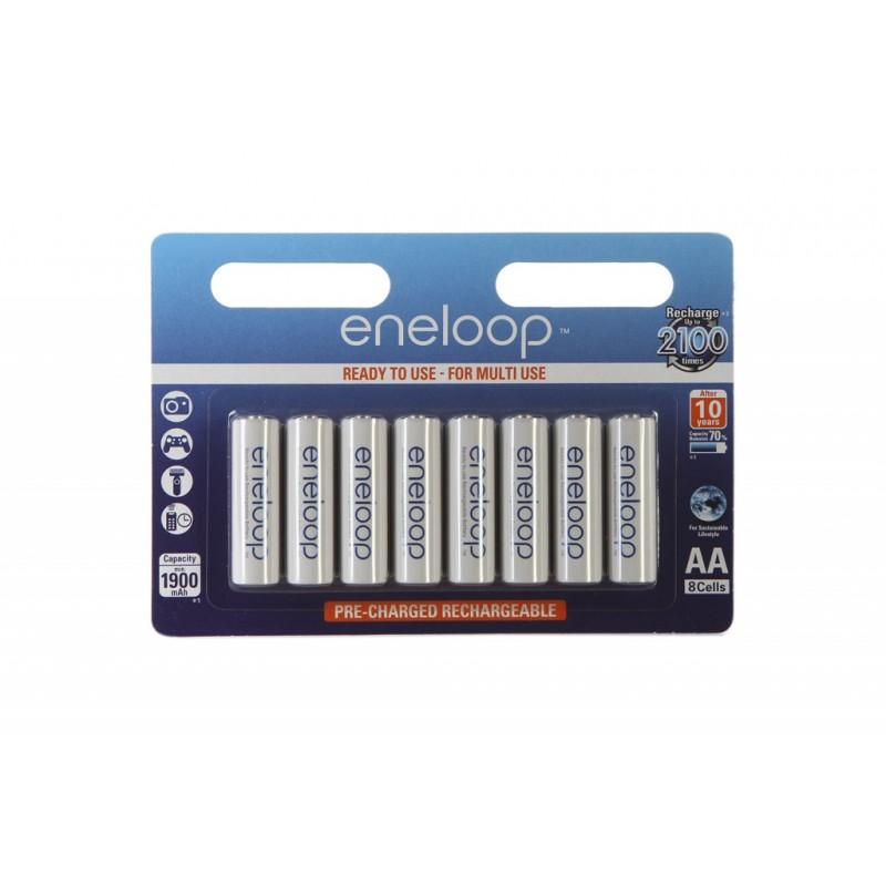 Аккумулятор AA - Panasonic Eneloop 1900 mAh Ni-MH (8 штук) BK-3MCCE/8BE