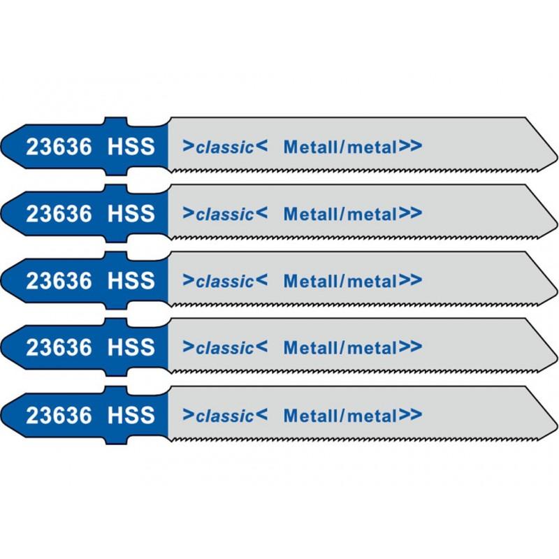 Пилка Metabo T118G HSS по металлу 5шт 623636000