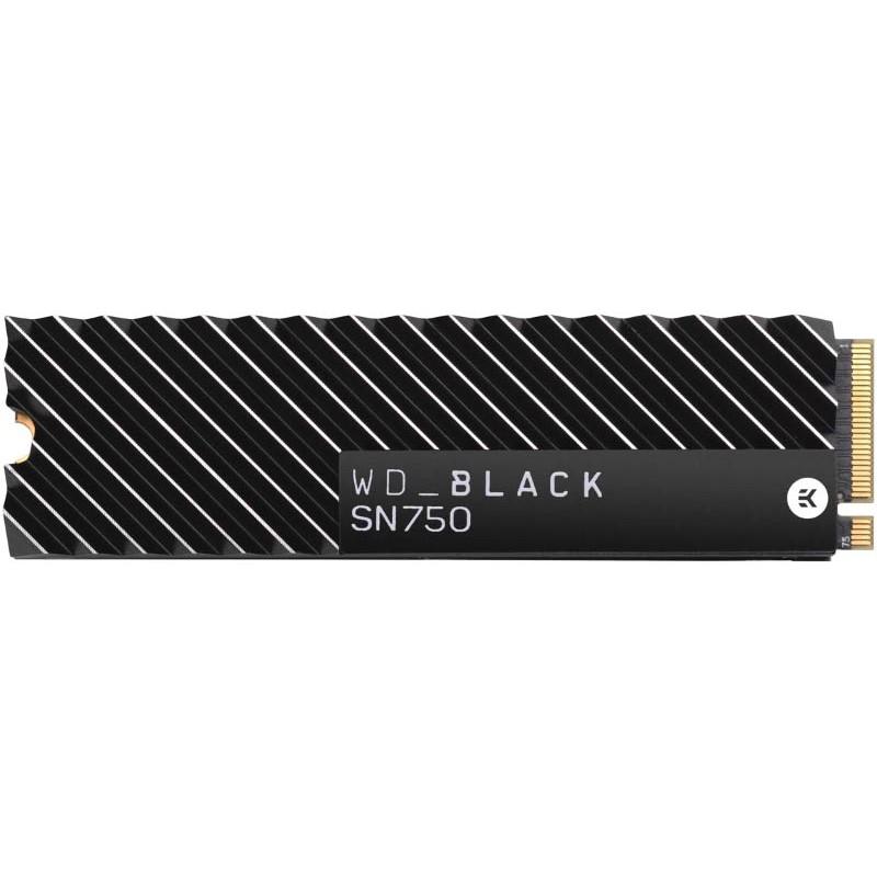 Твердотельный накопитель Western Digital WD SN750 NVME SSD 500Gb Black WDS500G3XHC