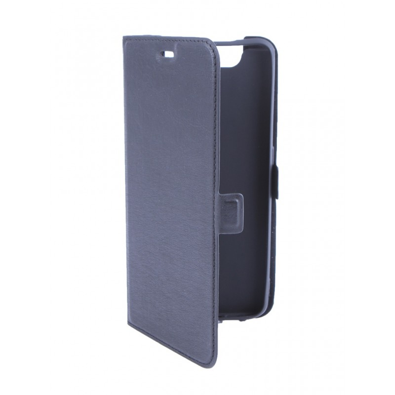 Чехол DF для Samsung Galaxy A80 Black sFlip-45