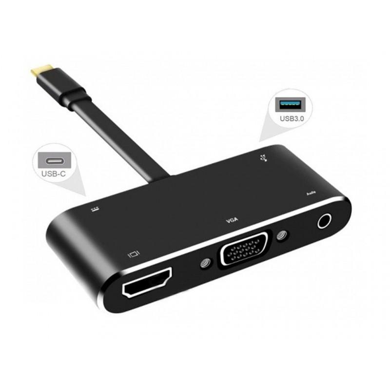 Аксессуар Orient C032 Type-C - HDMI + VGA + Audio + USB3.0 + PD 15cm