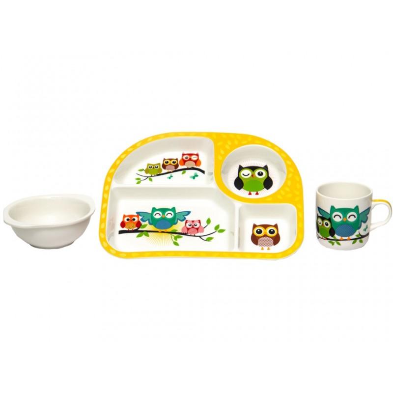 Набор детской посуды Lavenir Совята 192-47083