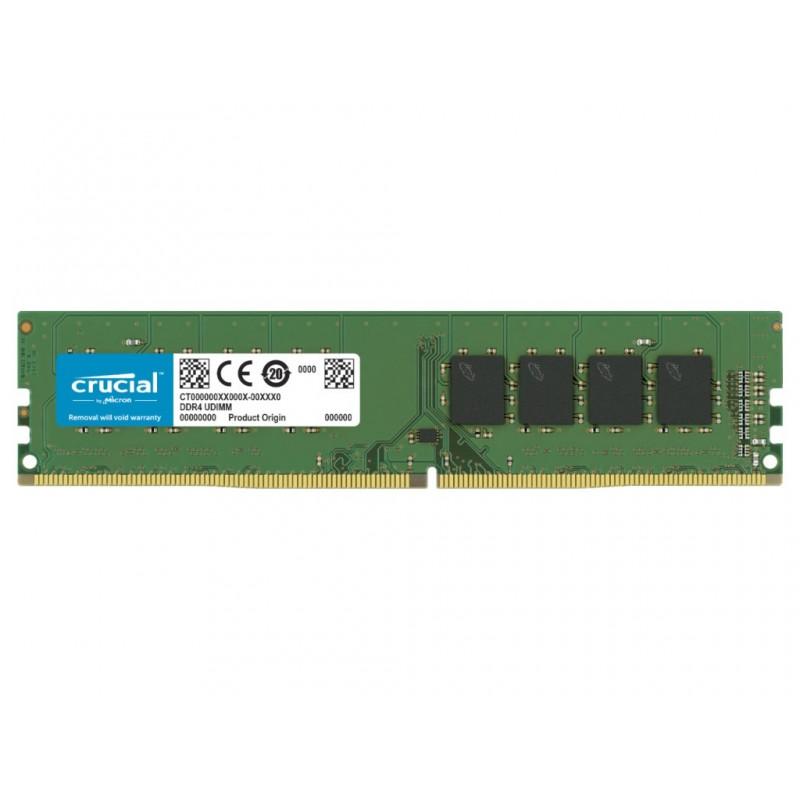 Модуль памяти Crucial DDR4 DIMM 2666MHz PC21300 CL19 - 4Gb CT4G4DFS6266