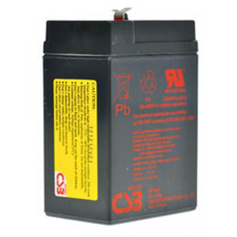 Аккумулятор для ИБП CSB GP-645 6V 4.5Ah клеммы F1