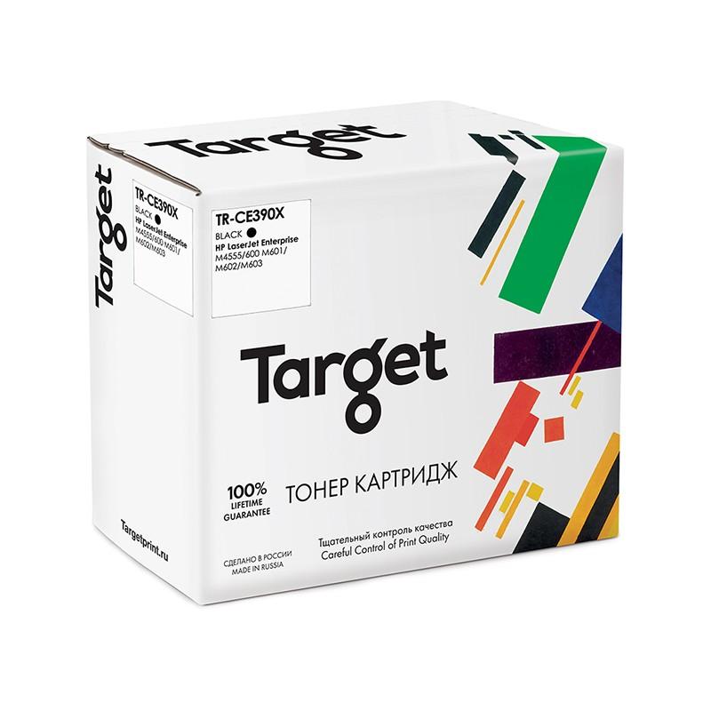 Картридж Target TR-CE390X для HP LJ Enterprise M4555/600 M602/M603