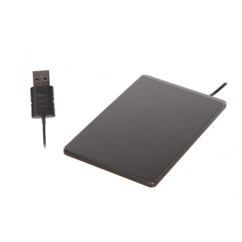 Зарядное устройство Baseus Card Ultra-Thin Wireless Charger 15W + USB Cable 1m Black WX01B-01