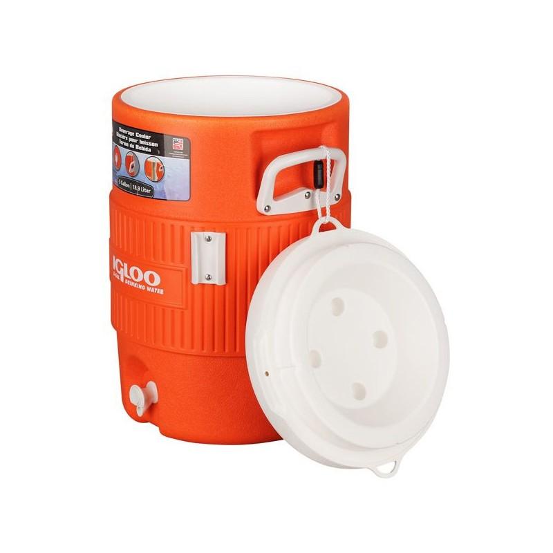 Термоконтейнер Igloo 5 Gal 400 Series Orange 00042200