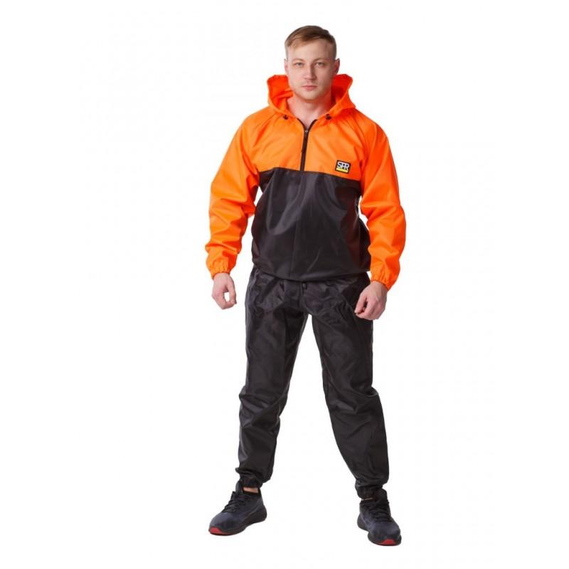 Костюм-сауна SPRoots Premium размер XXL Black-Orange 23124