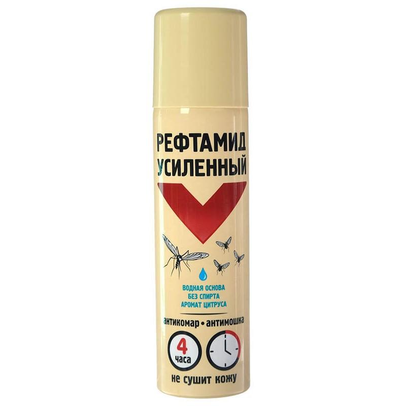 Средство защиты от комаров Рефтамид Аэрозоль 150мл 5135301