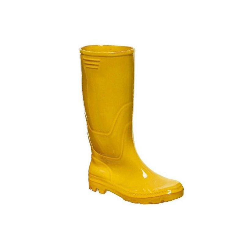 Кашпо Kaemingk Уютный Сапожок Yellow 169920