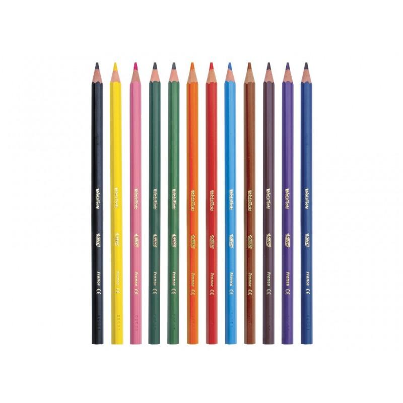 Карандаши цветные Bic Kids ECOlutions Evolution 12 цветов 82902910