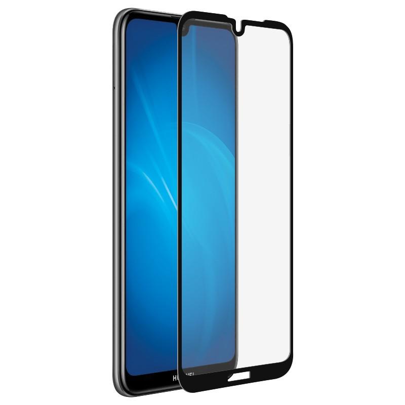 Защитное стекло Media Gadget для Huawei Y5 2019 2.5D Full Cover Glass Full Glue Black Frame MGFCHY519FGBK
