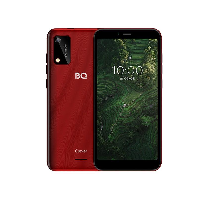 Сотовый телефон BQ 5745L Clever Red