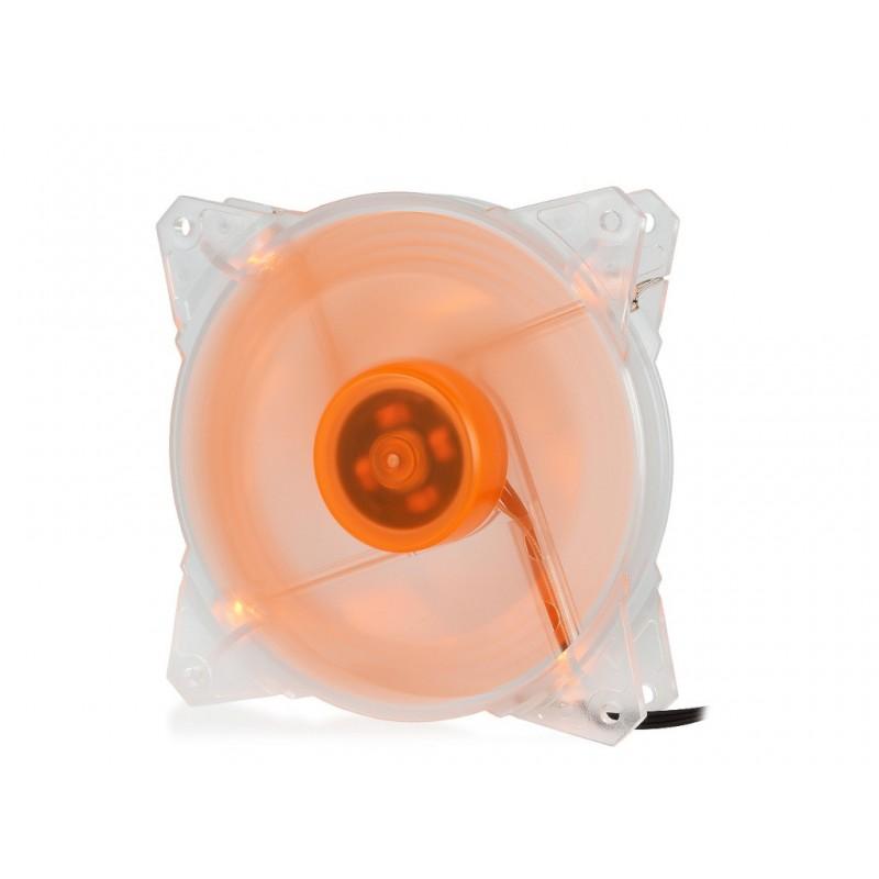 Вентилятор Crown 120mm Orange LED CMCF-12025S-1213