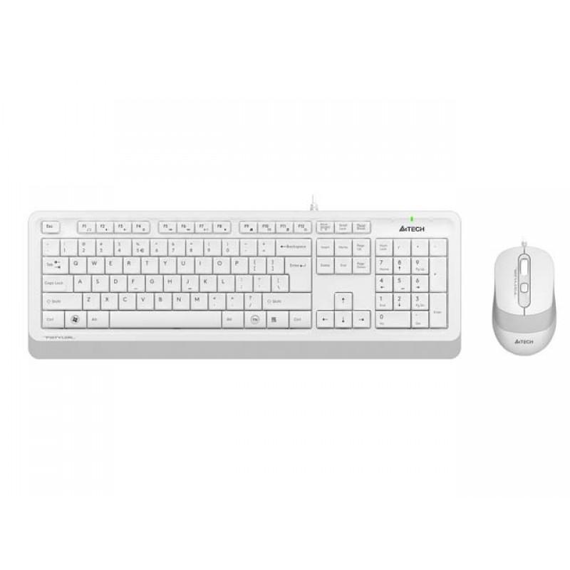 Набор A4Tech Fstyler F1010 White-Grey
