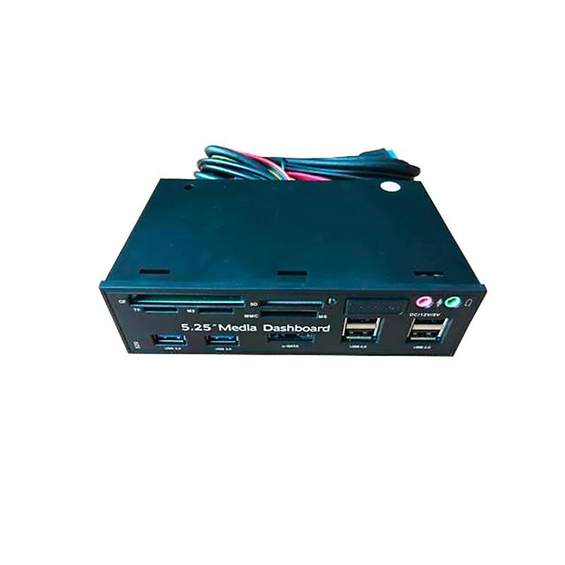 Контроллер Карт-ридер Espada EHUBUSB3&4P2