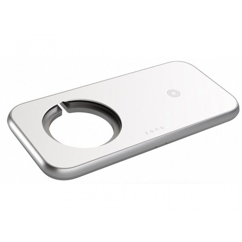 Зарядное устройство Zens Aluminium 3 in 1 Wireless Charger 45W White ZEDC16W/00