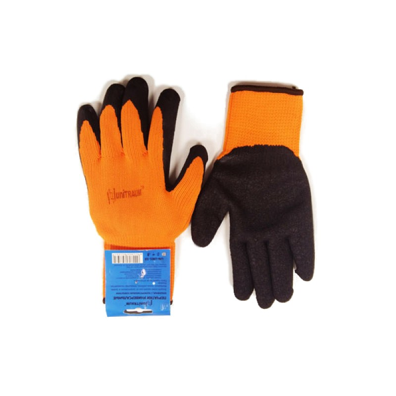 Перчатки Unitraum размер 10 Orange-Black UN-L001-10