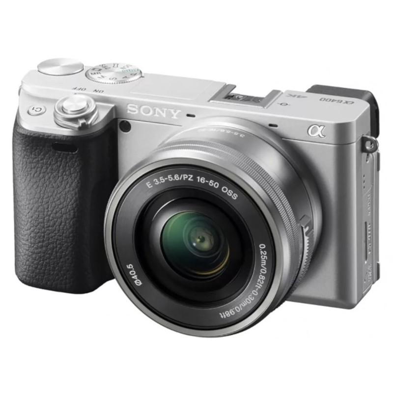 Фотоаппарат Sony Alpha A6400 Kit E PZ 16-50 mm F/3.5-5.6 OSS Silver