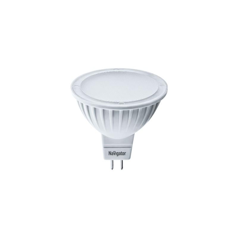 Лампочка Navigator GU5.3 7W 3000K 500Lm Warm Light NLL-MR16-7-230-3K-GU5.3-DIMM / 61 382