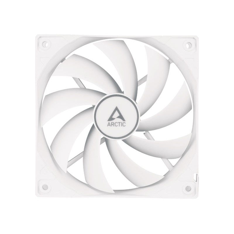 Вентилятор Arctic F12 PWM PST 120x120x25mm 230-1350rpm White ACFAN00198A