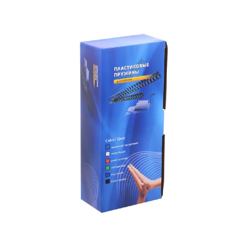 Пружины для переплета Office Kit 16мм 100шт Black BP2050