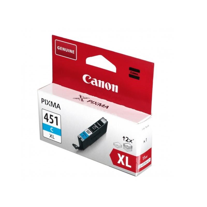 Картридж Canon CLI-451C XL Cyan 6473b001