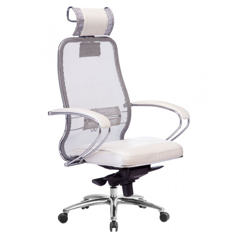 Компьютерное кресло Метта Samurai SL-2.04 White Swan