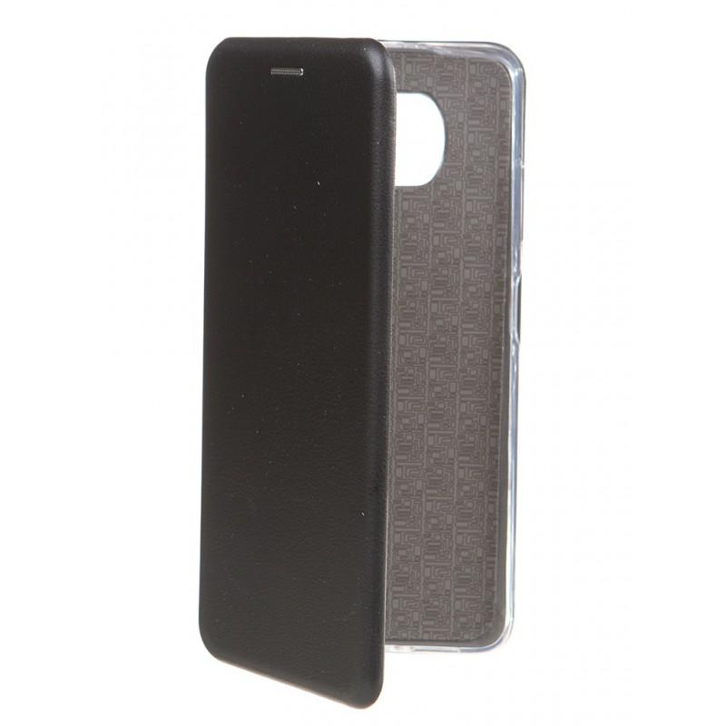 Чехол Zibelino для Xiaomi Poco X3 Book Black ZB-XIA-X3-BLK