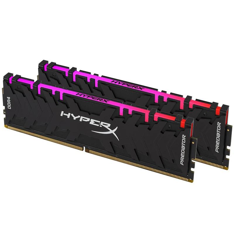 Модуль памяти HyperX Predator RGB DDR4 DIMM 3000MHz PC4-24000 CL15 - 32Gb KIT (2x16Gb) HX430C15PB3AK2/32