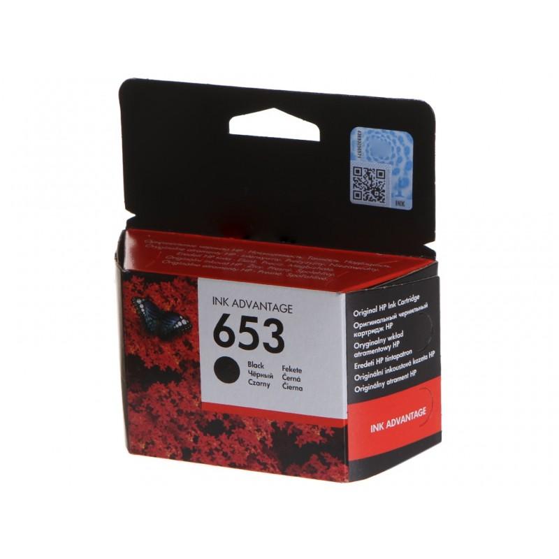 Картридж HP 653 Black 3YM75AE для DeskJet Plus Ink Advantage 6075/6475
