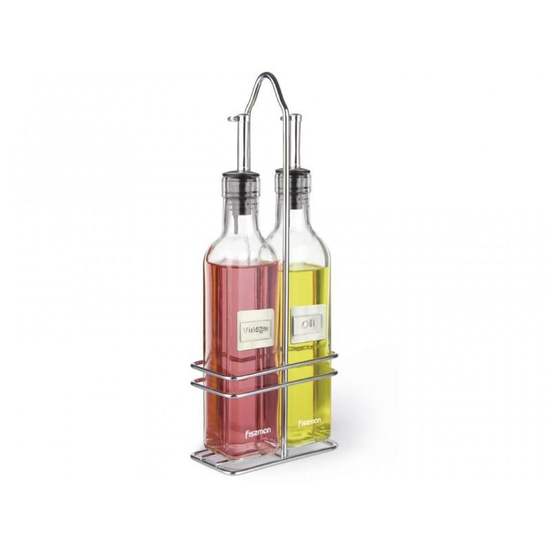 Набор бутылочек для масла и уксуса Fissman 2x250ml 6518