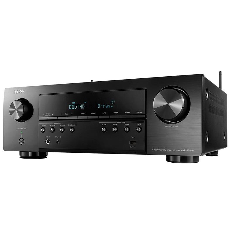 Ресивер Denon AVR-S650H AVRS650HBKE2