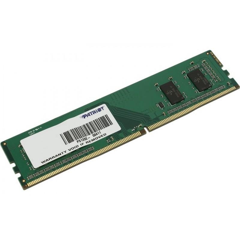Модуль памяти Patriot Memory DDR4 DIMM 2133MHz PC4-17000 CL15 - 4Gb PSD44G213382