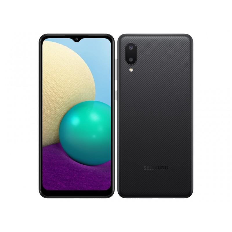 Сотовый телефон Samsung SM-A022GZ Galaxy A02 2/32Gb Black & Wireless Headphones Выгодный набор + серт. 200Р!!!