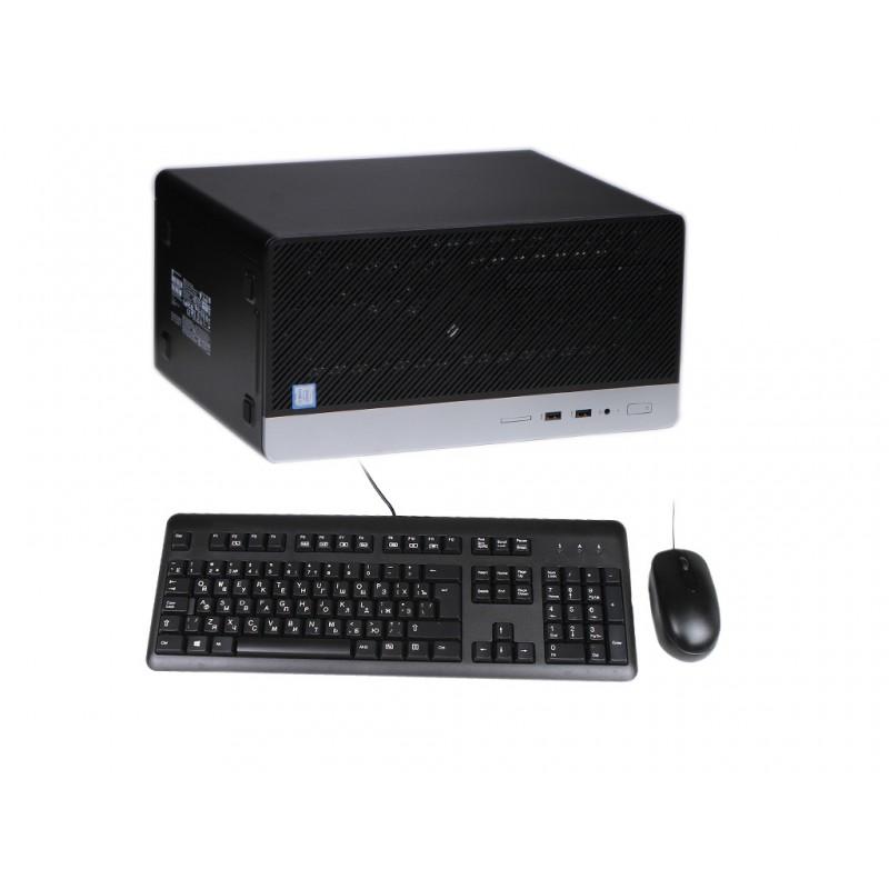 Настольный компьютер HP ProDesk 400 G6 Black 7EL67EA (Intel Core i3-9100 3.6 GHz/8192Mb/256Gb SSD/Intel HD Graphics/Windows 10 Pro 64-bit)