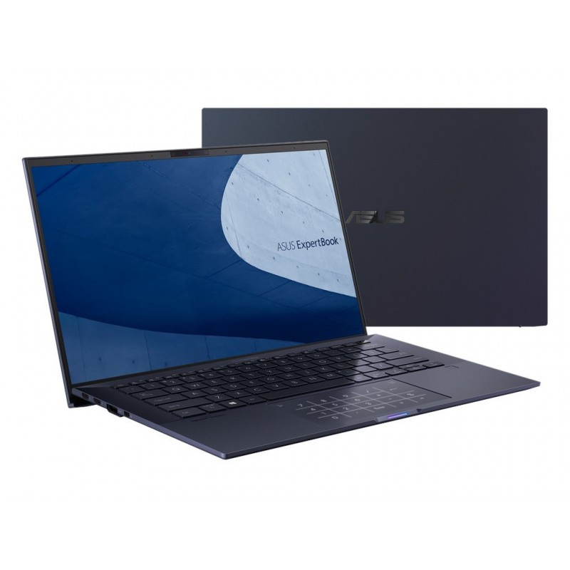 Ноутбук ASUS Pro B9450FA-BM0527R 90NX02K1-M06310 (Intel Core i7-10510U 1.8GHz/16384Mb/512Gb SSD/Intel HD Graphics/Wi-Fi/Bluetooth/Cam/14.0/1920x1080/Windows 10 64-bit)