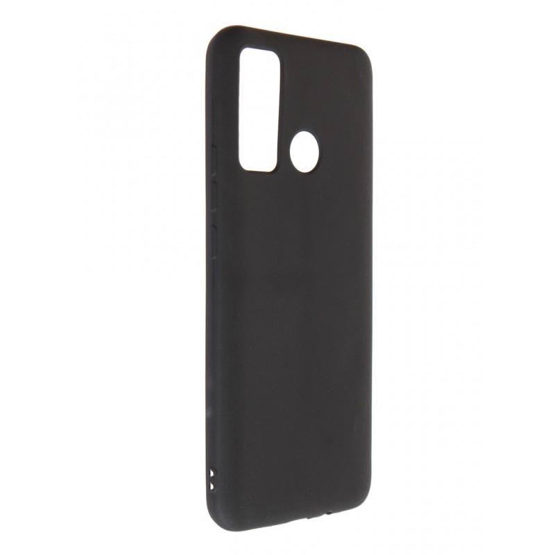Чехол DF для Tecno Spark 5 Air Silicone Super Slim Black tColorCase-01