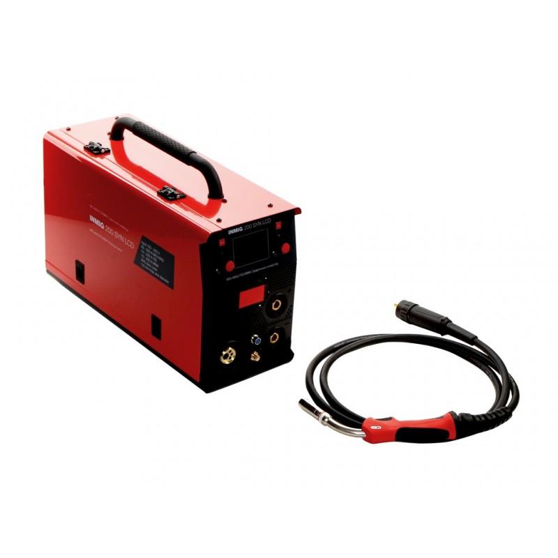 Сварочный аппарат Fubag Inmig 200 SYN LCD с горелкой FB 250