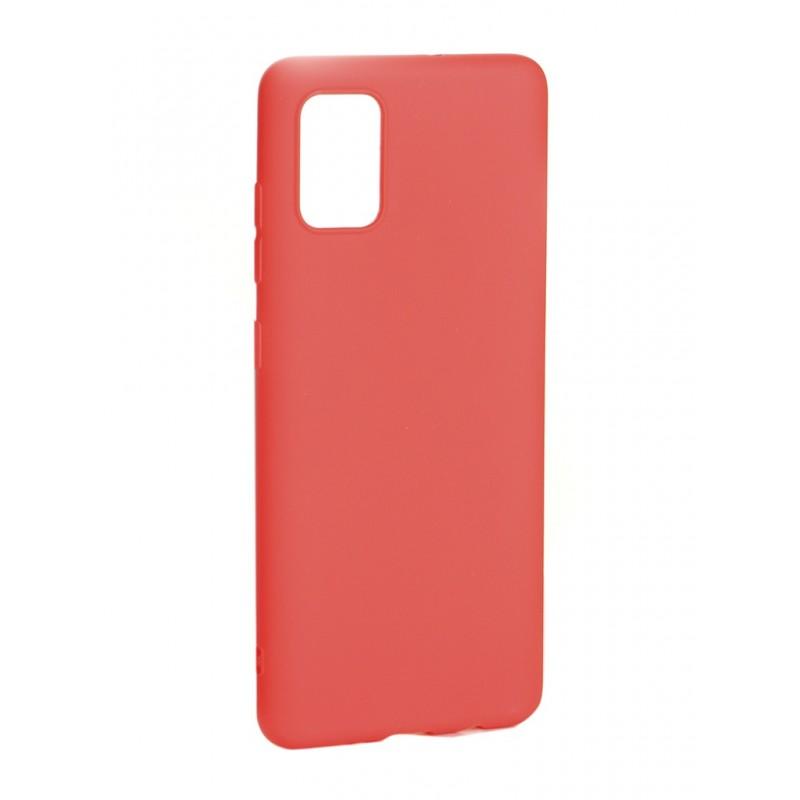 Чехол Zibelino для Samsung Galaxy A51 Soft Matte Red ZSM-SAM-A51-RED
