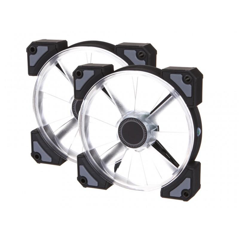 Вентилятор In Win Crown AC120 X2 RGB LED 12x12x25cm PWM 6133744