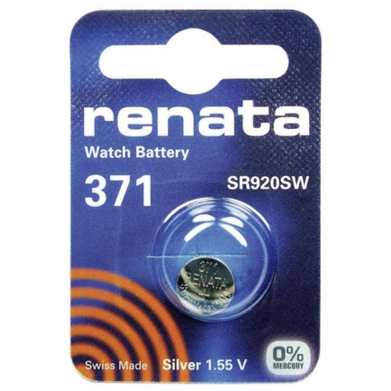 Батарейка R371 - Renata SR920SW (1 штука)