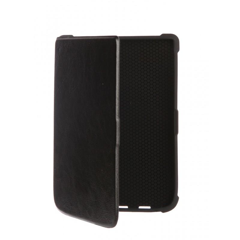 Аксессуар Чехол TehnoRim для PocketBook 616/627/632 Slim Black TR-PB616-SL01BL