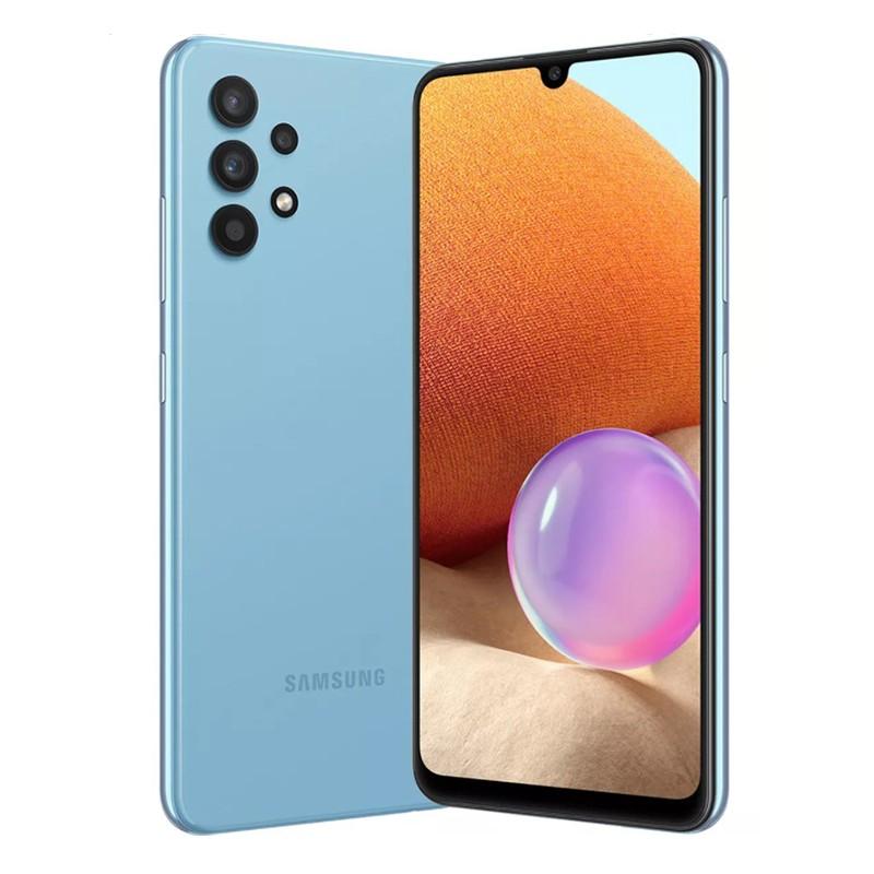 Сотовый телефон Samsung SM-A325F Galaxy A32 4/128Gb Blue Выгодный набор + серт. 200Р!!!
