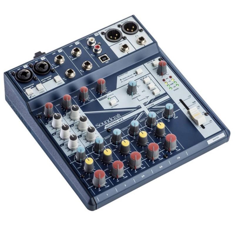 Пульт Soundcraft Notepad-8FX